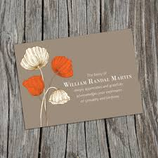 Funeral Invitation Card Template Other Products Joannides Funerals