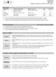 resume format for freshers engineers cse federal credit perfect resume template imposing models sles for freshers