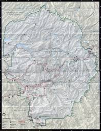 George Washington National Forest Map by Yosemite Historic Maps Yosemite Library Online