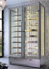 Glass Display Cabinet For Cafe Delfield Bakery Cafe Refrigerated U0026 Dry Display Case Dual Zone