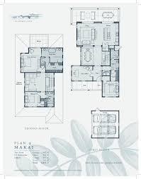 Schematic Floor Plan by Holua Kai Floor Plans New Homes In Hawaii