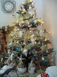 charming decoration beach themed christmas tree 252 best theme