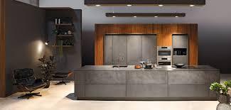 cuisine en beton cuisine façade béton anthracite cuisine à annecy 74