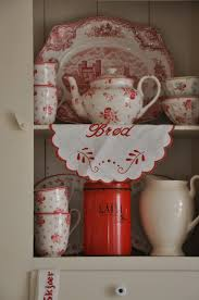 1061 best red u0026 white kitchen stuff images on pinterest red