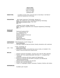 sle resume for part time job for students how to write winning cna resumeives skills exles awfulive job