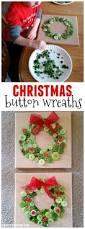 button christmas wreath craft wreaths button wreath and