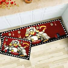 amazon com maxyoyo 2 pieces chefs kitchen floor mats runner