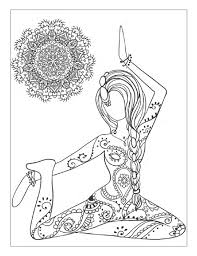 3doodler drawing u0026 coloring target yoga and meditation coloring book for adults with yoga poses and