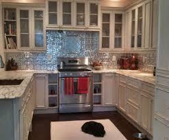 tin kitchen backsplash kitchen backsplash design faux metal tin tiles for backsplash in