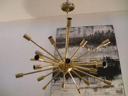 Vintage Sputnik Light Fixture Lighting Vintage Brass Sputnik Light Fixture At 1stdibs