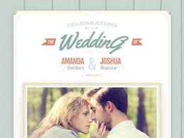 best wedding invitation websites free premium wedding websites ewedding
