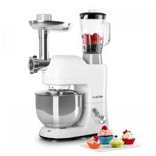 mixeur cuisine lucia de cuisine pétrin mixeur hachoir 1200w 5l blanc
