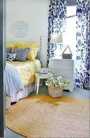 Blue Yellow Bedroom | blue and yellow farmhouse bedroom thistlewood farms farming and