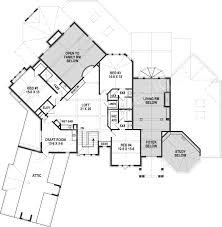 Arts And Crafts Homes Floor Plans by Leatherwood Lodge Rustic Floor Plans Luxury House Plans