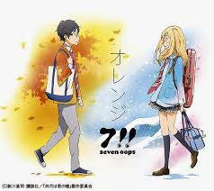 download film anime uso 7 seven oops orange single hikarinoakariost
