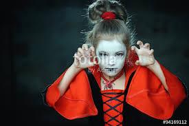 Girls Halloween Vampire Costume Dressed Vampire Gothic Halloween