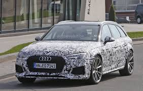 2018 audi rs4 avant hits ring expect porsche panamera 29l twin