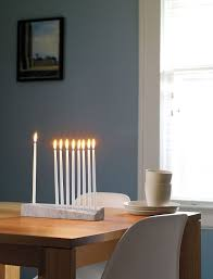 modern menorah ascalon menorah design within reach