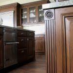 Black Glazed Kitchen Cabinets Antique White Kitchen Cabinets With Chocolate Glaze Hd 1080p