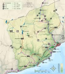 National Map Fundy National Park Map Hiking U0026 Biking The Trails
