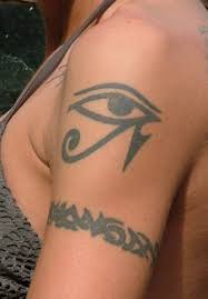 eye of horus tattoo n armband tattoo for girls tattoos book