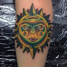 100 impressive sun tattoos and meanings 2017 collection