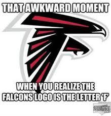 Falcons Memes - falcons logo f meme