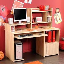 Kid Computer Desk Decoration White Computer Desk