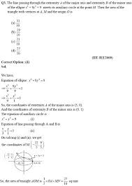 ellipse u2013 jee important questions u0026 preparation tips