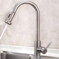 stainless steel pull out kitchen faucet and cold 146 99