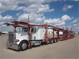 car carrier truck peterbilt 379 car carrier trucks for sale used trucks on