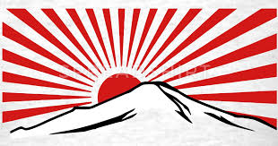 mt fuji with rising sun t shirt spreadshirt