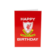 this is the birthday card this is anfield happy birthday card liverpool fc official store