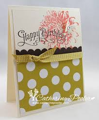 with kindness stampin u0027 up birthday card making