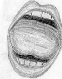 mouth pencil drawing how to draw lips step step with pencil pencil