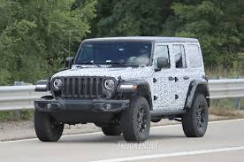 jeep wrangler pics spied 2018 jeep wrangler jl unlimited totally
