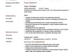 Sample Resume Mechanic by Entry Level Diesel Mechanic Resume Reentrycorps