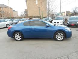 nissan altima coupe ontario used 2009 nissan altima 2 5s coupe loaded for sale in