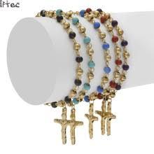 rosary bracelets popular gold rosary bracelet buy cheap gold rosary bracelet lots