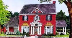 new england colonial house plans monster house plans