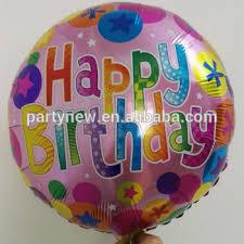 birthday helium balloons 18 inch balloon for birthday party decoration children
