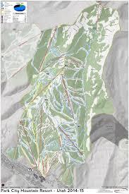Park City Utah Map by Park City Mountain Resort Skimap Org