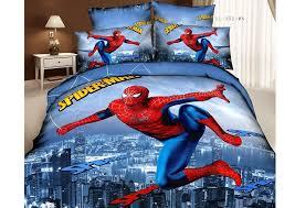 spiderman bedding 3d oil painting 100 cotton cartoon children