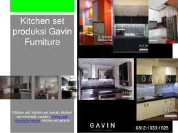kitchen set dengan berbagai model terbaru