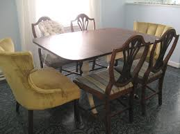 Dining Room End Chairs Trash To Treasure Dining Room Table Lovely Etc