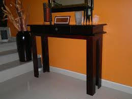 Tables For Entrance Halls Custom Carpentry Entrance Table With Drawer