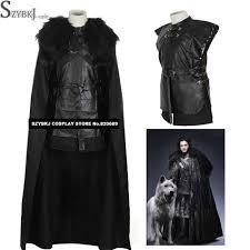 Cheap Gothic Snow White Costume Aliexpress Game Thrones Costume Jon Snow Costume Coat