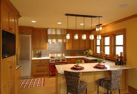 traditional kitchen lighting ideas country primitive lighting with dining table pendant light