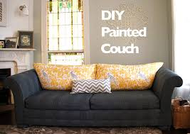 Where To Buy Upholstery Fabric Spray Paint How To Paint Furniture Upholstery A Diy Sofa Makeover