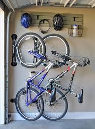 kitchen bike racks for garage idea rack diy metal storage options